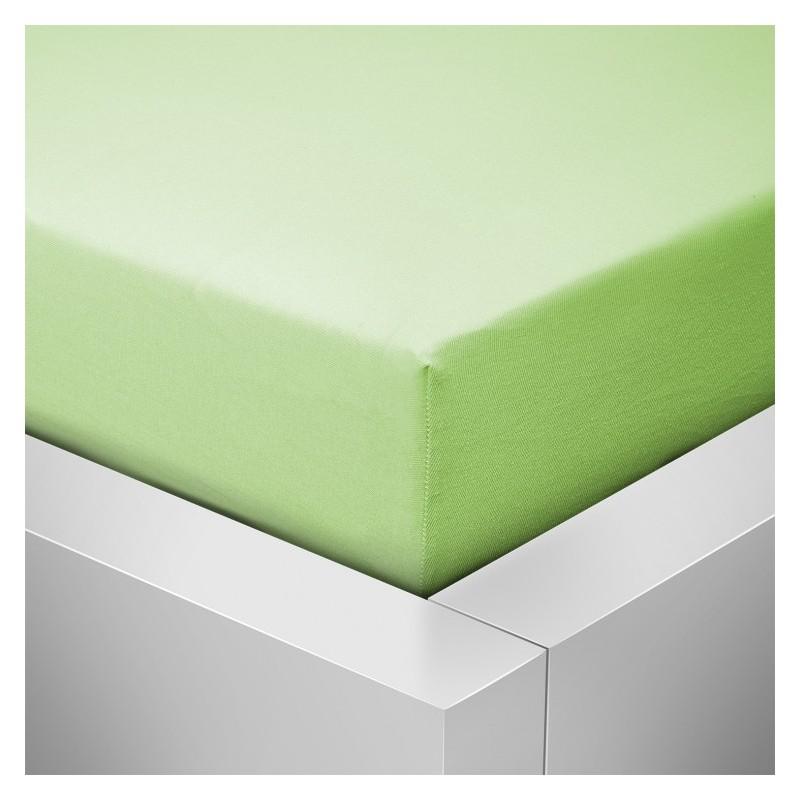 Jersey prostěradlo,  Zelená 005Š
