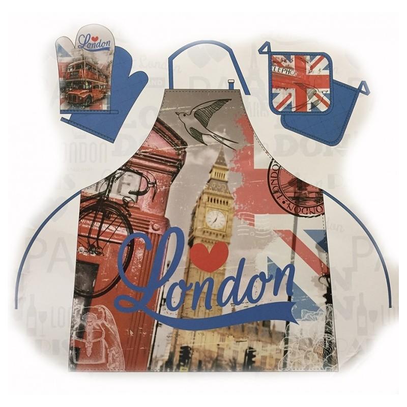 Kuchyňská zástěra Londýn