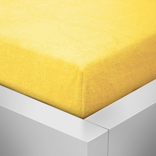 Froté prostěradlo, Žlutá 125