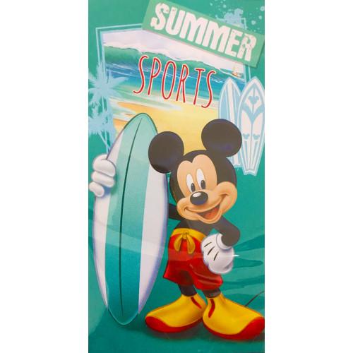 Licenční osuška Mickey Mouse