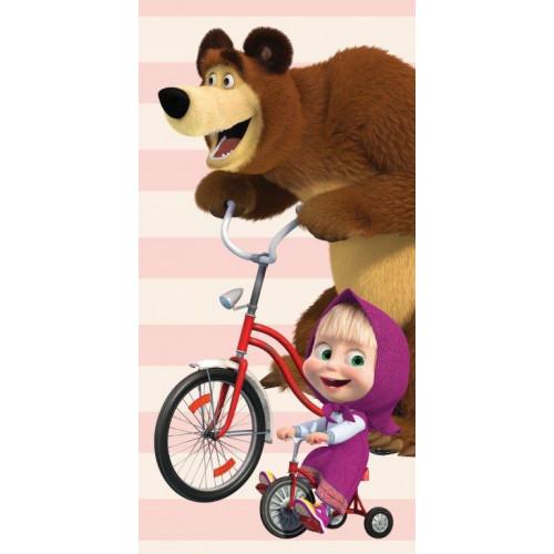 Licenční osuška Máša a medvěd