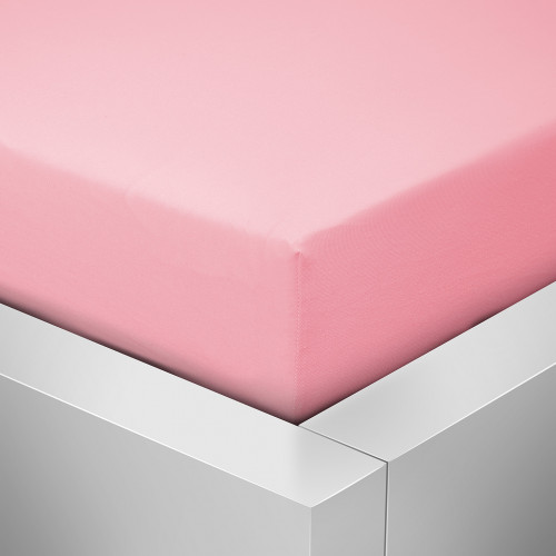Prostěradlo Luxus, Růžová 006