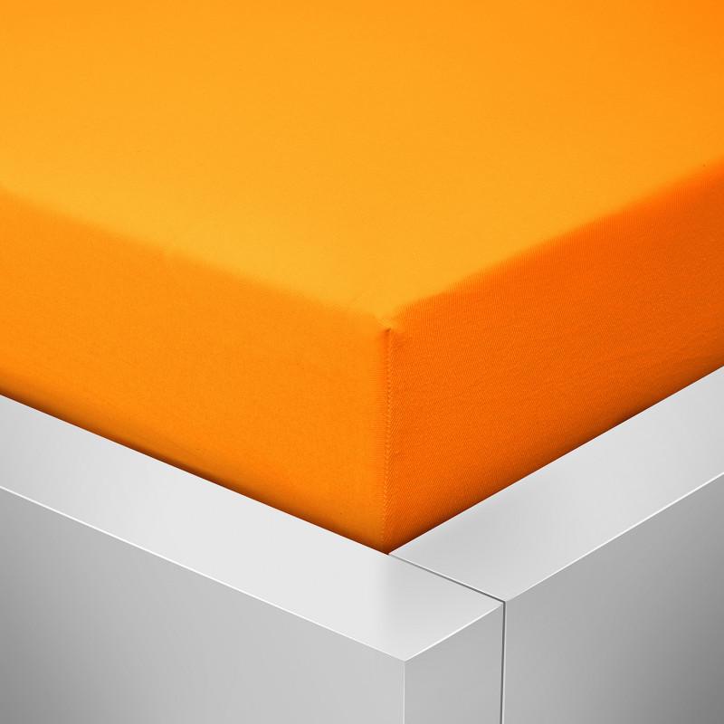Prostěradlo Luxus, Pomeranč 202
