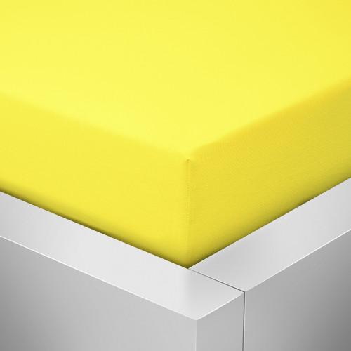 Prostěradlo Luxus, Žlutá 125