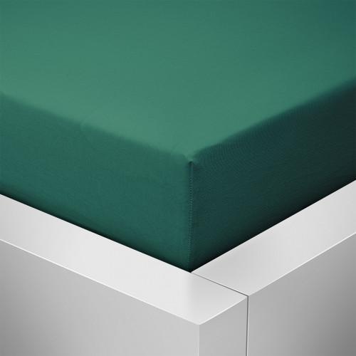 Prostěradlo Luxus, Tmavě zelená 608