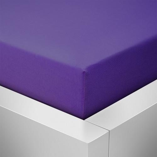 Prostěradlo Luxus, Tmavě fialová 404