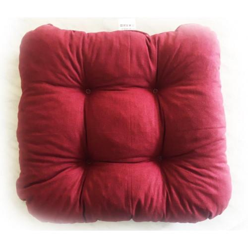 Prošitý sedák - červený