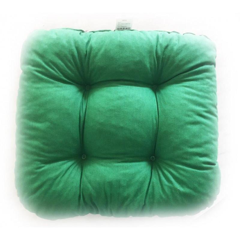 Prošitý sedák - zelený