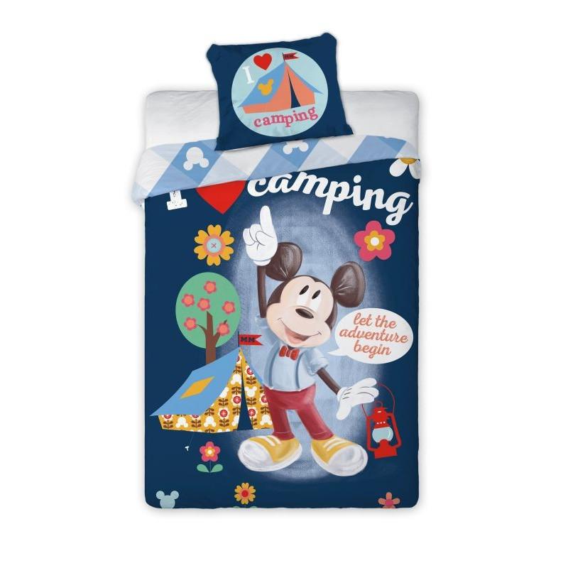 Licenční povlečení Mickey Mouse camp