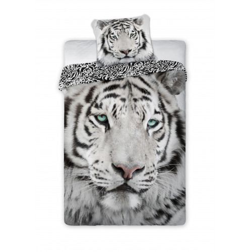 Povlečení Fototisk - Bílý tygr