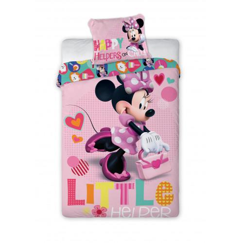 Licenční povlečení Minnie Mouse se srdcem