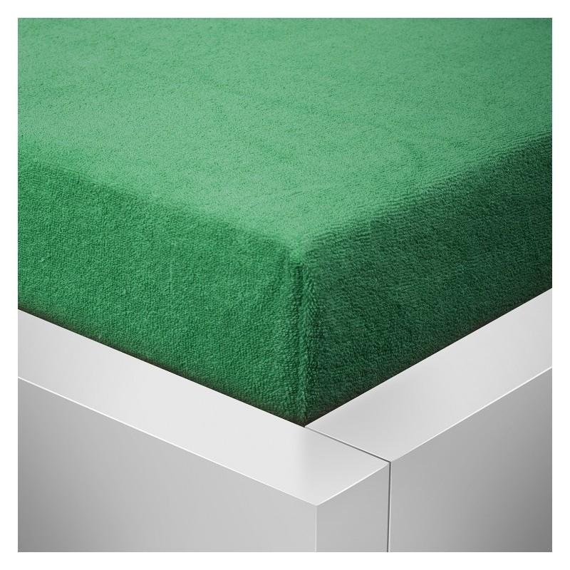 Froté prostěradlo, Zelená 614